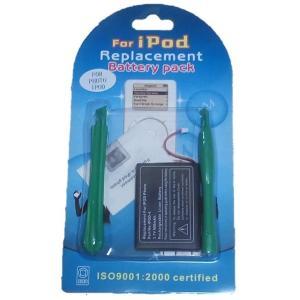 iPod photo交換バッテリー工具付  3,7V (900mAh)-531056