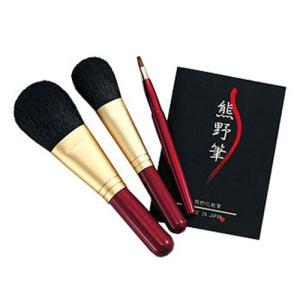 熊野筆 化粧筆セット 筆の心 KFi-80R|dp-express