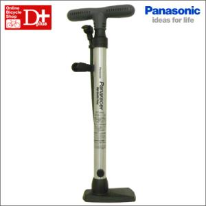 Panasonic パナソニック パナレーサー アルミコンパクト フロアポンプ 【自転車用 空気入れ ポンプ】【c-op】|dplus