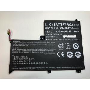 6-87-w740s-42e1 11.1V 53.28Wh clevo ノート PC ノートパソコン 純正 交換用バッテリー dr-battery