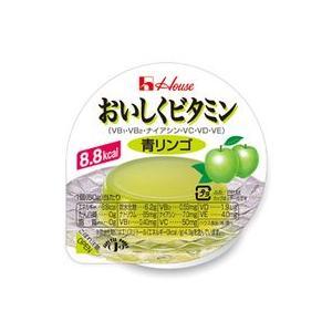 ハウス食品 おいしくビタミンゼリー(青リンゴ)60g...