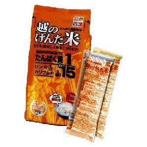 越のげんた米(炊飯米) 130g×10 6袋|dr-meal