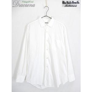 古着 シャツ 60s The Kalle Bros 100%コットン オールド ホワイト ドレス シ...