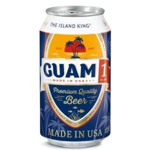 ビール グアム 1(ワン) ビール (缶)5.0% 355ml beer