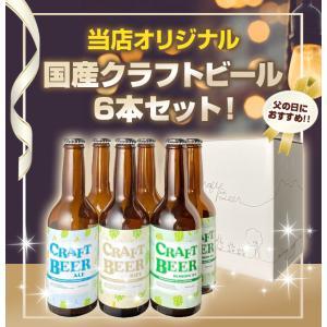 ビール 送料無料 当店オリジナル 国産クラフトビール 6本セ...