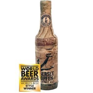 日本原産の生ホップ、ソラチエースを使用した 世界一のIPA!!  このインゼル醸造所の「ウーバーゼェ...