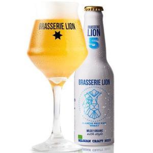 ベルギー産 オーガニックビール!  爽やかで苦味が少なく女性にもオススメな ベルジャン・ホワイトエー...
