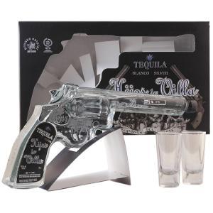 レア物!  拳銃の形をしたボトルの、 面白いテキーラ!    このテキーラは、メキシコ革命100周年...