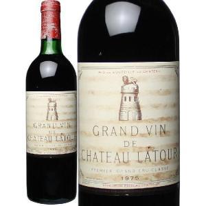 ワイン ボルドー シャトー・ラトゥール 1975 赤 wine