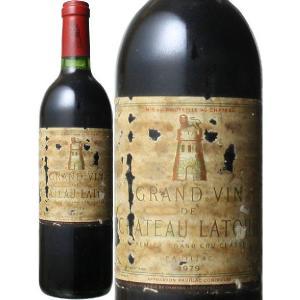 ワイン ボルドー シャトー・ラトゥール 1979 赤