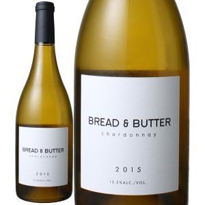 ワイン アメリカ ブレッド&バター シャルドネ 2015 アルコール・バイ・ヴォリューム 白