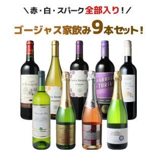 ワインセット ボルドーもカヴァも入ったゴージャス家飲み9本セット 赤ワイン 白ワイン スパークリング 全部入り  送料無料 第36弾 wineset|ビールと洋酒専門店酒のやまいち