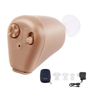 【騒音抑え】補聴器は、低いオーディオ歪みとより鮮明な音声のための完全なデジタル音質を備えています。 ...