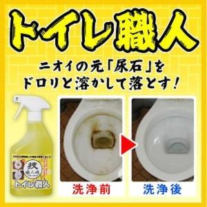 在庫あり 技・職人魂 トイレ職人 500ml トイレ用強力洗浄剤 dragon-bee