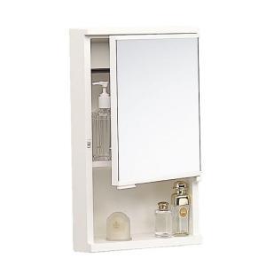 洗面ミラーキャビネット TW-T300 洗面台 500×270×120mm 浴室 洗面所 W500 コンパクト