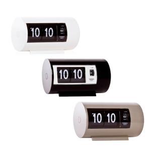 TWEMCO(トゥエンコ) 置き時計 パタパタアラームクロック AP-28 ホワイト 白 目覚まし時計 レトロ カントリー 時計 置時計 アラーム時計|dragon-bee
