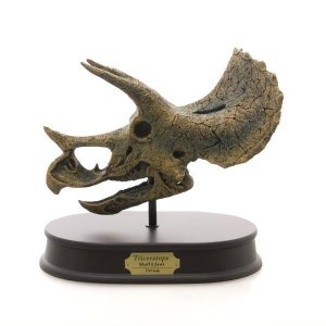 玩具 恐竜 フィギュア DINOSAUR SKULL&JAWS MODEL 恐竜 トリケラトプス スカル&ジョーズモデル FD652 (70325) 頭骨 模型 小田氏監修|dragon-bee