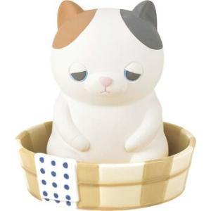 あすつく  加湿器 ねむねむアニマルズ加湿器(銭湯)ゆず 加湿 気化式 電源不要 陶器 素焼き ミケ猫 猫 ねこ にゃんこ 銭湯 桶 りぶはあと 正規品|dragon-bee