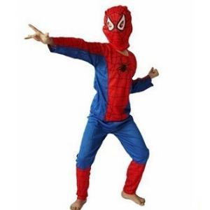 あすつく ハロウィン  コスチューム キッズ スパイダーマン M 110-120cm 衣装 仮装  コスプレ 子供服 子供用 クリスマス|dragon-bee