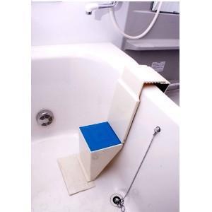あすつく  浴槽用ワンタッチステップ NEWタイプ 介護用 風呂用 踏み台 椅子 お風呂 お風呂の中...