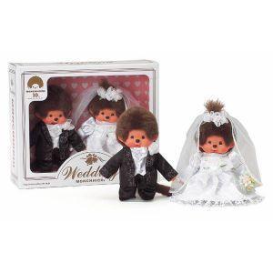 在庫あり【送料550円】セキグチ モンチッチ ウェディングセット 洋装 結婚祝い 贈り物 プレゼント|dragon-bee