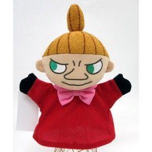 在庫あり  ムーミンシリーズ リトルミイ ハンドパペット 手踊り人形 567780 ぬいぐるみ 人形 クリスマス プレゼント|dragon-bee
