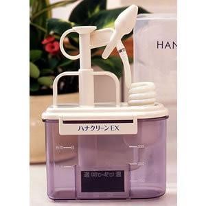 あすつく  ハナクリーンEX サーレMP30包(洗浄液)付き ハナ ムズムズ 鼻洗浄器 鼻洗浄機 鼻洗い 鼻うがい 手動式 花粉対策グッズ 鼻クリーン dragon-bee