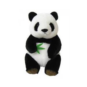 あすつく  シンフーパンダ Lサイズ 180158 パンダ ぬいぐるみ|dragon-bee
