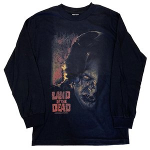 LAND OF THE DEAD   ランド オブ ザ デッド ZOMBIE FACE ロングスリー...