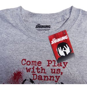 THE SHINING・シャイニング・ COME PLAY WITH US Tシャツ・ 映画Tシャツ|dragtrain|02