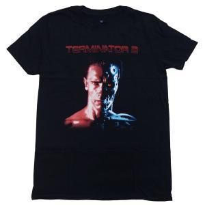 TERMINATOR 2・ターミネーター 2・FACE/BORG・Tシャツ・オフィシャル映画Tシャツ