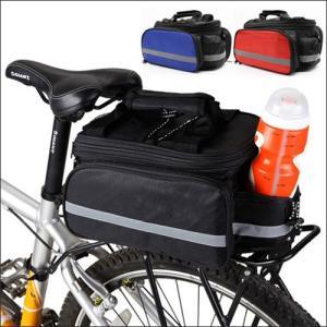 自転車リアサイドバッグ サイドバッグ パニアバッグ 荷台固定バッグ 旅行などに便利な小物入れ dream-brother