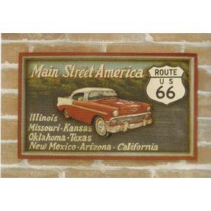 アンティークボード 「MAIN STREET AMERICA」 dream-f