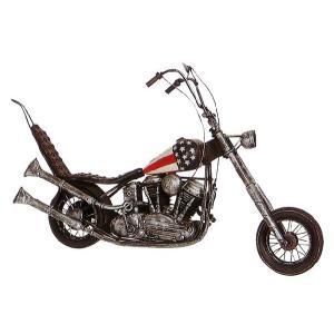 ブリキのおもちゃ レトロバイク・チョッパーアメリカン2...