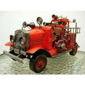 ブリキのおもちゃ 消防車A|dream-f