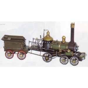 ブリキのおもちゃ 蒸気機関車(SL)5|dream-f