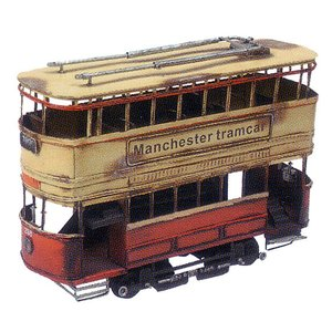 ブリキのおもちゃ トラム・路面電車|dream-f