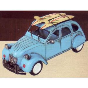 ブリキのおもちゃ キャリアカー・ライトブルー|dream-f
