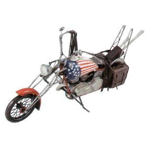 ブリキのおもちゃ レトロバイク・チョッパーアメリカン1...