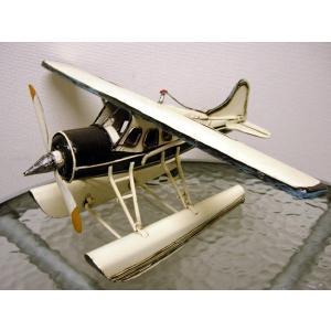 ブリキのおもちゃ 水上飛行機・A|dream-f