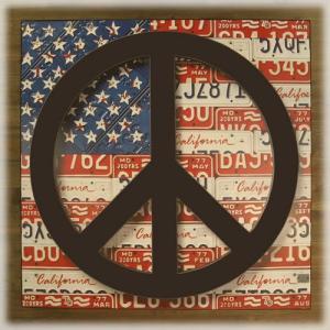 アンティークボード 「PEACE USA」 dream-f