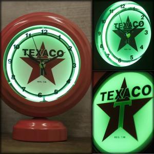 クロック(置き時計)テーブルトップ ネオンクロック TEXACO テキサコ|dream-f