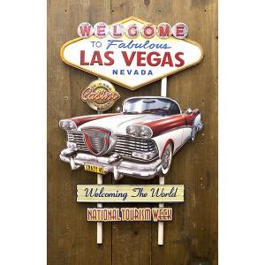 アメリカン スタイル ウォールデコ 「ラスベガス クラッシクカー」 dream-f