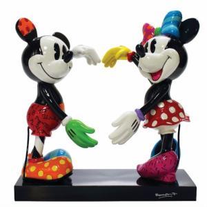 ミッキーとミニーマウス フィギュア ダンス BRITTO<ディズニーコレクション ブリット>|dream-f