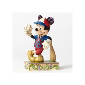 ミッキーマウス ベースボール フィギュア <ディズニートラッディション>|dream-f