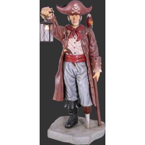 キャプテンパイレーツとランタン(海賊船長)・等身大フィギュア|dream-f