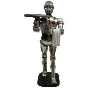 フィギュア付 メニュートレイ・ロボット ウエイター        ※この商品は別途送料かかります、ご注文後お知らせいたします dream-f