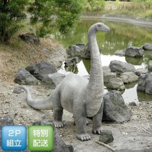 高さ215cm 子供・ブロントサウルス(恐竜等身大フィギュア)     ※この商品は別途送料かかります、ご注文後お知らせいたします|dream-f