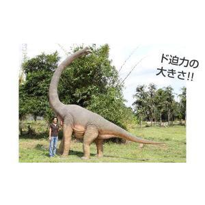 高さ472cm!振り向くブラキオサウルス大型(恐竜等身大フィギュア)  ※この商品は別途送料かかります、ご注文後お知らせいたします|dream-f