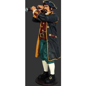 キャプテンパイレーツ望遠鏡(海賊船長)・等身大フィギュア|dream-f